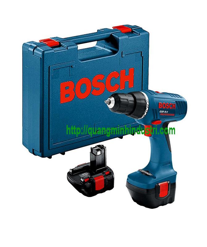 Máy Khoan Bosch Dùng Pin GSR-12-2-Li