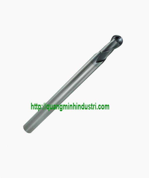 Dao CNC 2 Lưỡi Xoắn Đầu Tròn