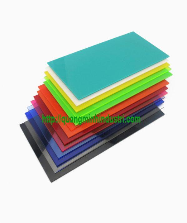 Tấm Nhựa Mica 5mm Loại Phổ Thông