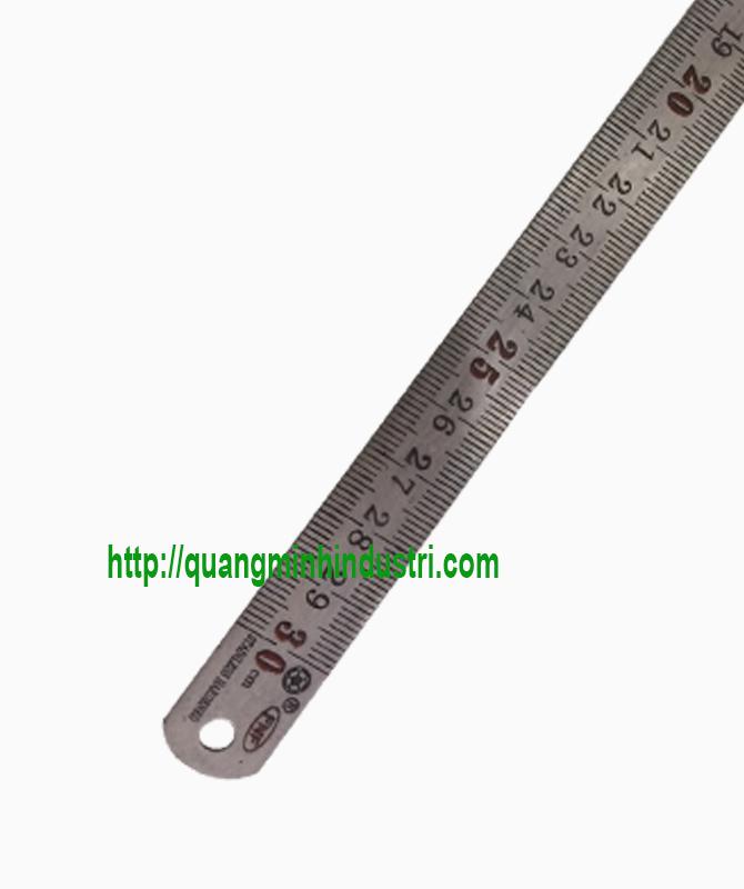 Thước Lá Inox 30cm Loại Nhỏ 1.5cm