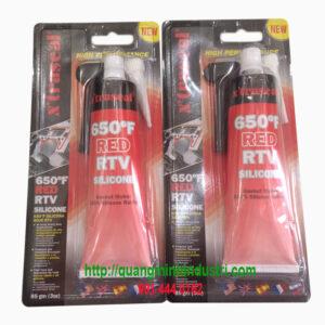 Keo Chịu Nhiệt Thay Ron Red RTV Silicon 650ºF