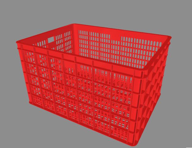 rổ nhựa công nghiệp