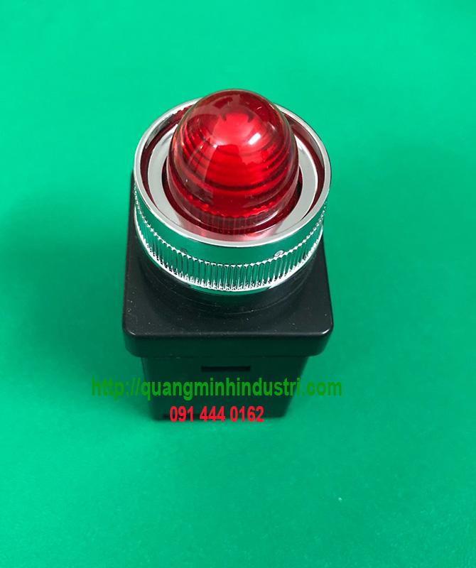 đèn báo led khung nhôm