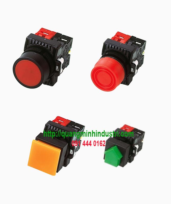 Nút nhấn không đèn chống nước dòng AR của HanYoung