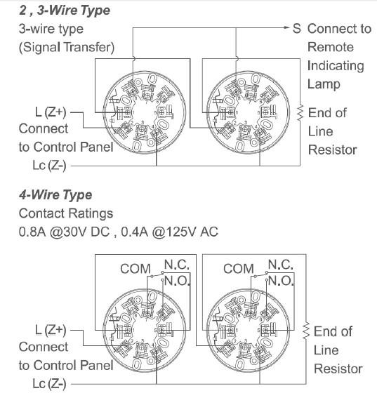 Đầu báo khói quang học Horing AH-0311-2